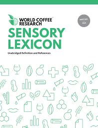 sensory lexicon copertina