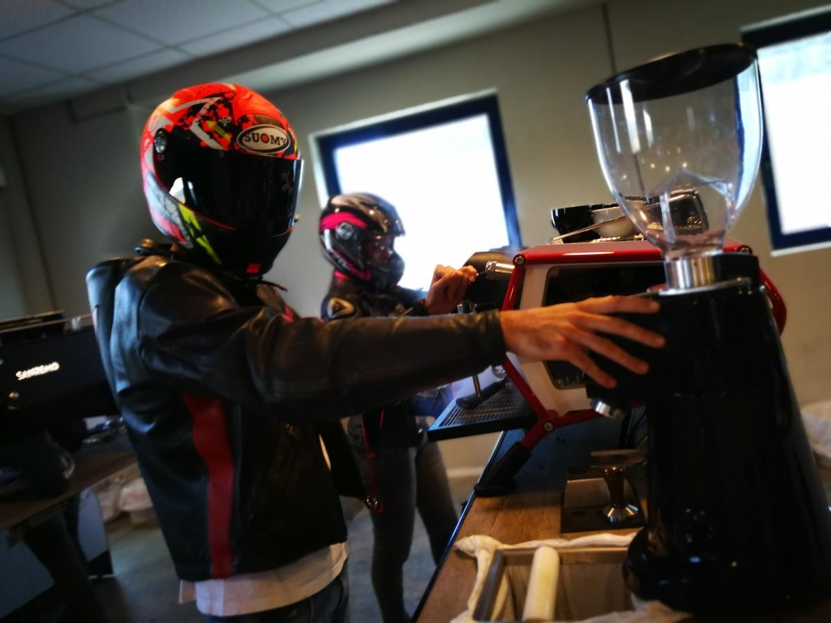 Caffè da corsa!
