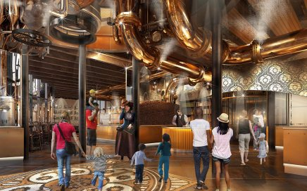 """Toothsome Chocolate Factory"" in Universal City Walk, Orlando"