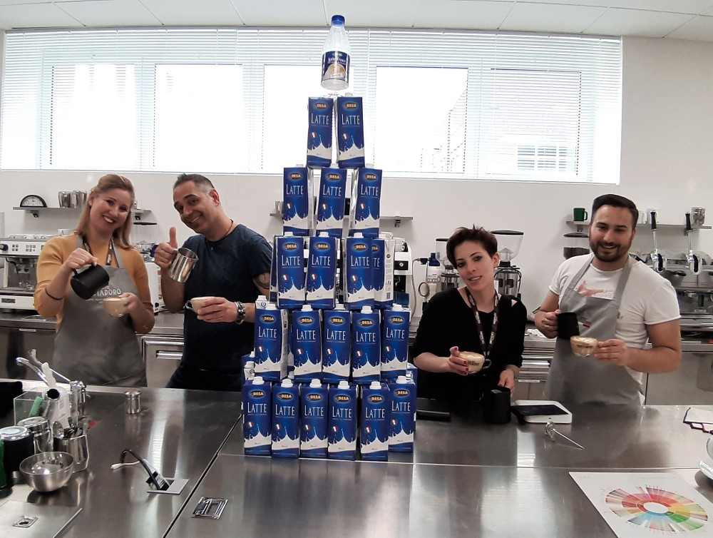 piramide latte